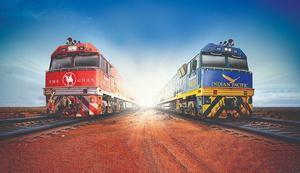 Two great Australian Trains