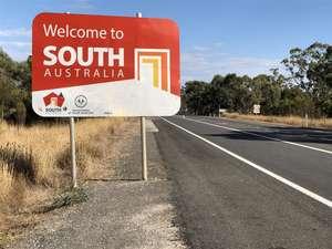 Border of Victoria and South Australia