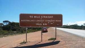90 Mile Straight - Australia's longest straight road