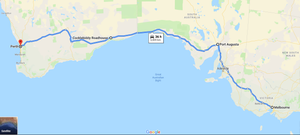 3 days drive itinerary from Melbourne to Perth