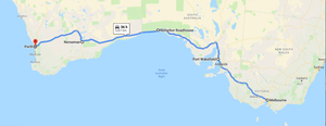 4 days drive itinerary - Melbourne to Perth