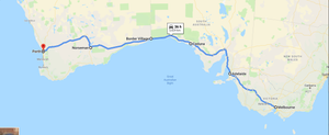 5 days drive itinerary - Melbourne to Perth