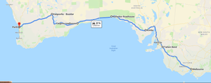 6 days drive itinerary - Melbourne to Perth