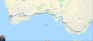 Melbourne to Perth Drive Itinerary