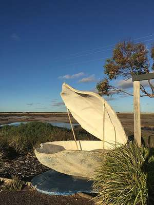Big Oyster at Ceduna (SA)