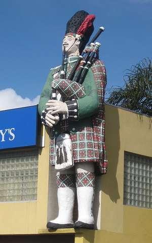 Big Scotsman at Adelaide