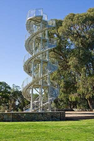 Big DNA Tower Staircase at Kings Park, Perth (WA)