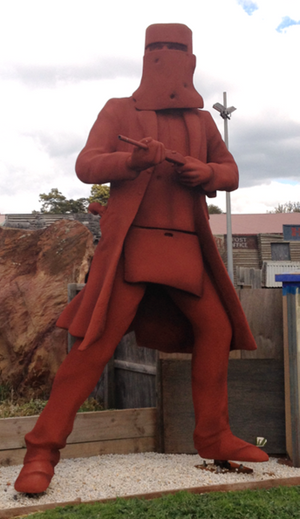 Big Ned Kelly at Ballarat