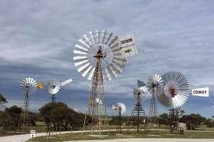 Big Windmill at Penong (SA)